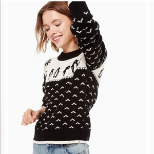 Kate Spade Penguin Sweater